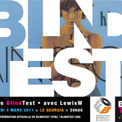 La playlist blindtest LewisW, le Georgia ven. 4 mars 2011.