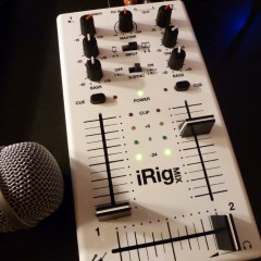 Matos: iRig Mix, ou comment mixer sans se faire une scoliose.