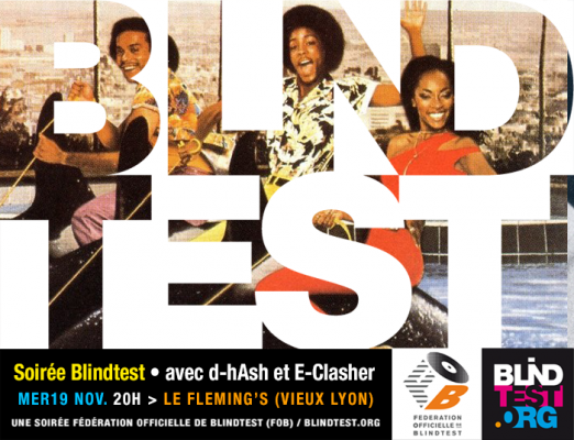Soiree blindtest au Flemings, mer 19 nov